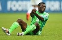Бабатунде не сможет сыграть в плей-офф ЧМ 2014 за Нигерию