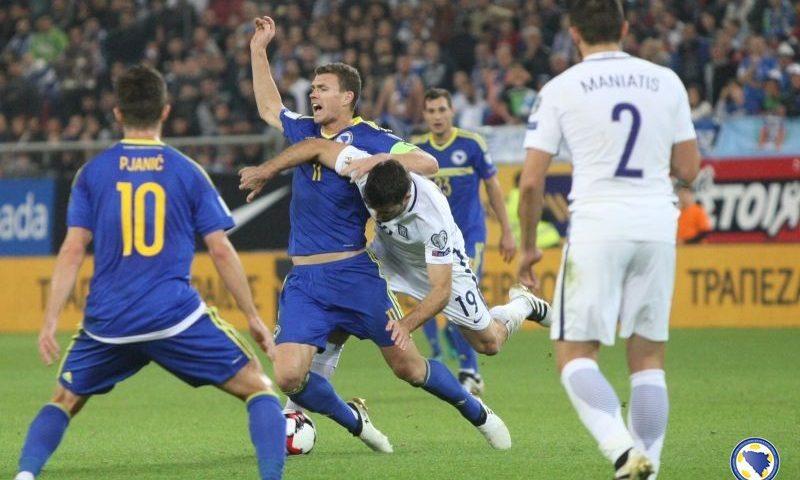 Босния и Герцеговина — Греция, 09.06.2017